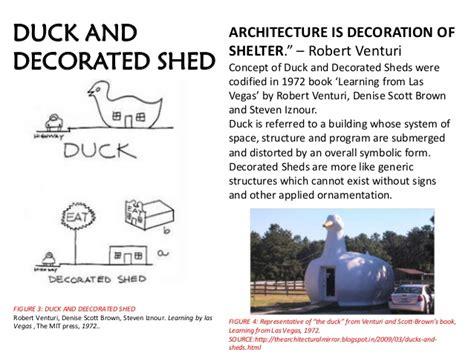 Robert Venturi Duck Decorated Shed by Robert Venturi Works