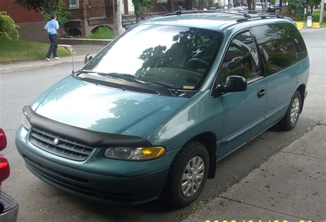 how it works cars 2000 plymouth grand voyager security system 2000 plymouth voyager information and photos momentcar