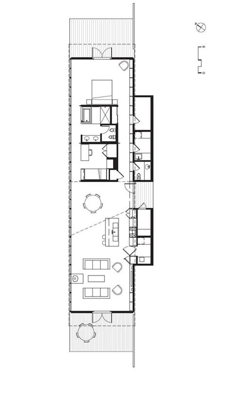 Long Skinny House Plans | long and skinny house plan tiny house inspiration