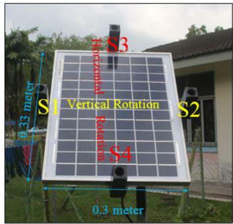Solar Panels For Sensors - ldr sensor position on solar pv panel