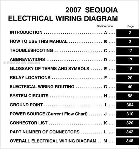 toyota sequoia wiring diagram 29 wiring diagram images