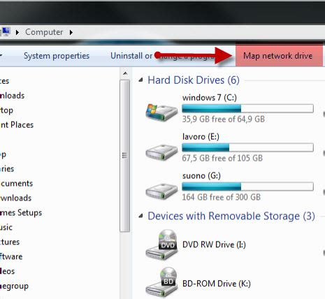 how to map a network drive in windows 7 how to map network drives websites and ftp locations in