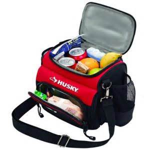 home depot lunch box husky 9 in lunch cooler 82021n11 the home depot