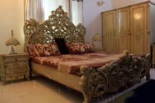 Bedroom Sets Prices In Karachi Deco Paint Carved Bedroom Set Karachi Karachi