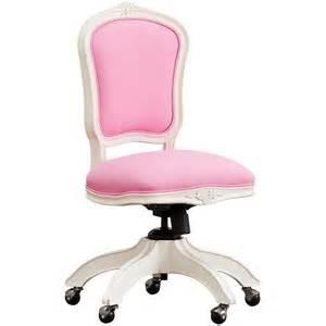Pink Desk Chair Cushion Ooh La La Swivel Chair Antique White W Bright Pink