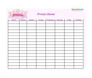 Chore Chart For Adults Templates by Weekly Chore Chart Template 24 Free Word Excel Pdf