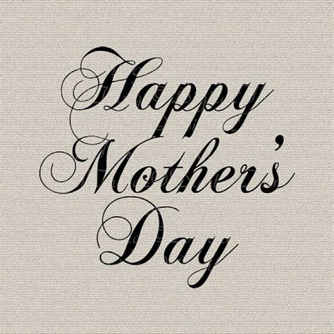 s day script happy mothers day script text printable digital for