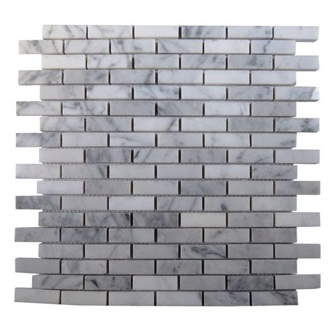 Home Depot Brick Tile by Splashback Tile Big Brick White 3 In X 6 In X 8