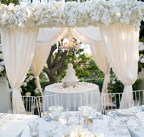 wedding awning vintage wedding of shawn and zack in rancho santa fe