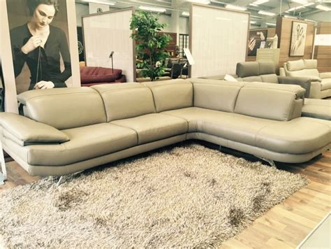 natuzzi corner sofas natuzzi editions premium leather chaise corner sofa
