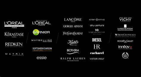 Brand L Oreal l or 233 al finance brands and divisions