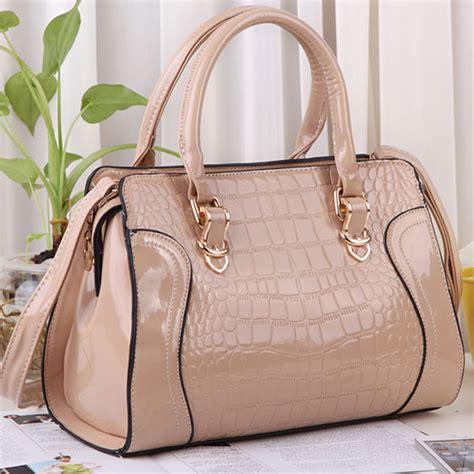 Croco Bag by Fashion Croco Hardcover Handbag Shoulder Bag