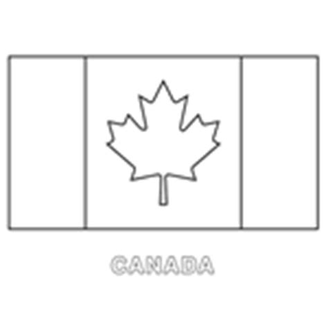 Coloring In Templates For Flags Of The World Download Now Canada Flag Template