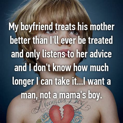 7 Signs You Are With A Mamas Boy by 19 Reveal What It S Really Like To Date A S Boy