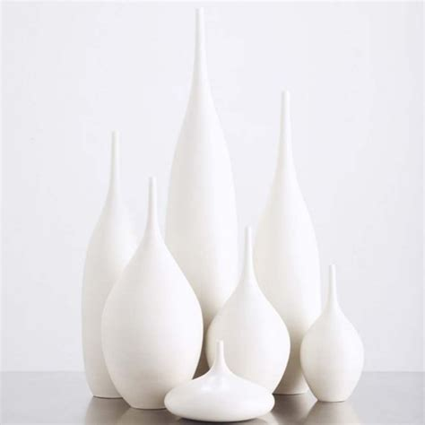 Modern Vases by 7 Modern Ceramic Pottery Bottle Vases In Organic By Sarapaloma