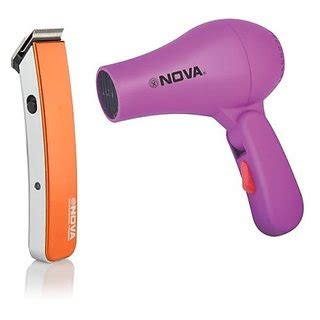 Hair Dryer Trimmer Combo grooming combo nhd 2850 hair dryer and trendy trimmer
