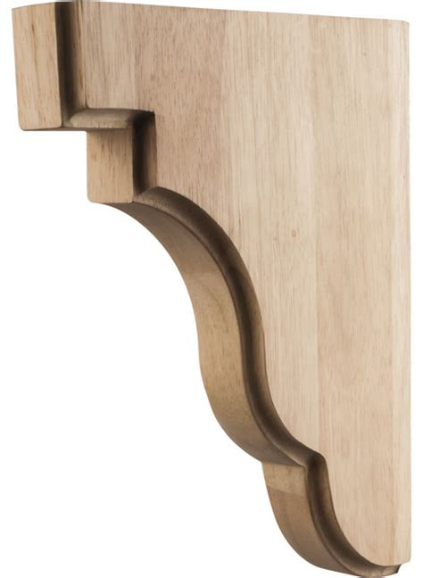 Square Corbels Cherry Bar Brackets Square Corbels Traditional Corbels