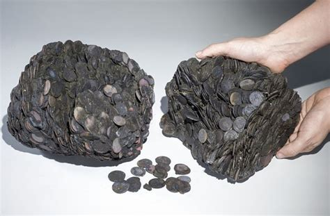 new year artifacts underwater treasure hoard of coins found in israel