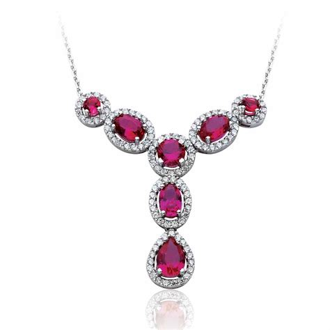 the 15 most beautiful ruby necklace designs