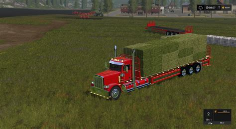 How To Make Handmade Ls - peterbilt 388 flatbed custom daycab v1 ls 17 farming