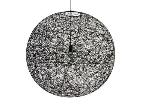 moooi random pendant light buy the moooi random suspension light black at nest co uk
