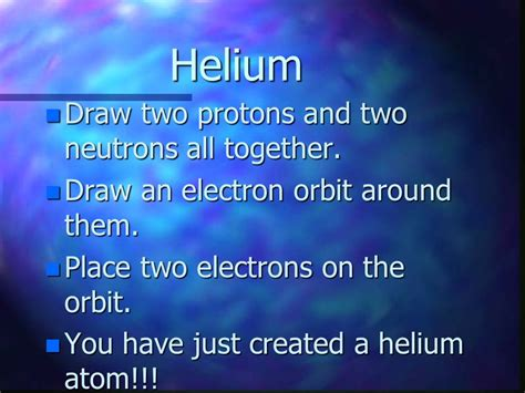 Two Protons And Two Neutrons by The Atom Ppt