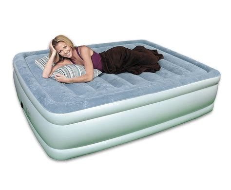 air bed full size quick luxe full size raised air bed review