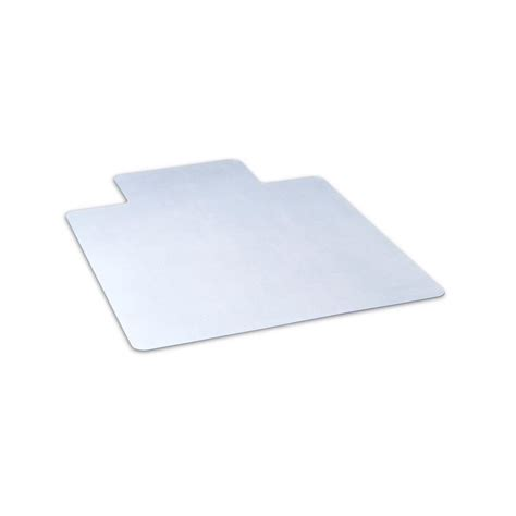 office depot desk mat dimex 36 in x 48 in clear office chair mat with lip for