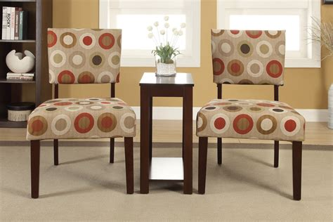 Accent Chair And Table Set 3 Accent Chairs And Side Table Set C Kendrys Furniture