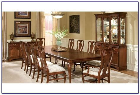 thomasville cherry esszimmer set solid cherry dining room furniture m 246 bel