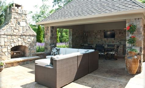 outdoor living space plans sophisticated outdoor sitting room to make guest feel