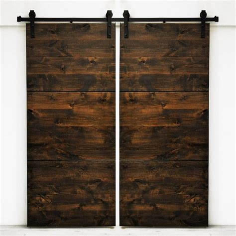 Setting Interior Doors by Shop Dogberry Collections Modern Slab Set Of 2 Stained