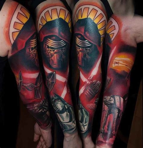 star wars tattoo sleeve new wars sleeve tatuagens