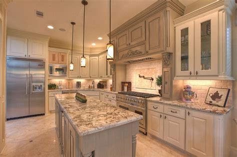 decorations kitchen white springs granite with best