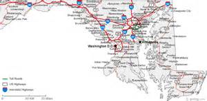 maryland map map of maryland cities maryland road map