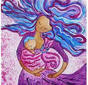 Sling Dance Motherhood Babywearing Artwork Painting