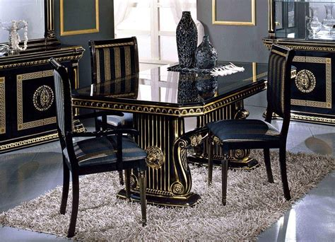 black modern dining room sets black dining room set marceladick