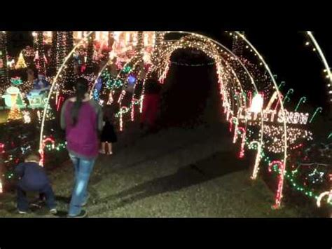 clayton christmas lights 2014 youtube