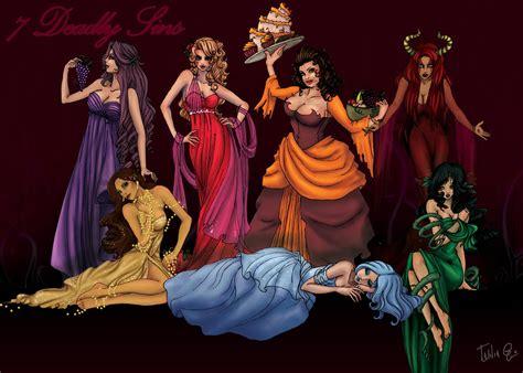 the seven deadly sins 24 seven deadly sins the seven deadly sins by attitudechick on deviantart