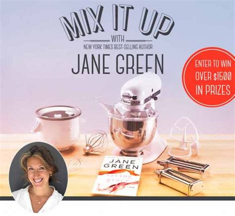 enter the mix up your kitchen sweepstakes mix it up with jane green giveaway spaweek com