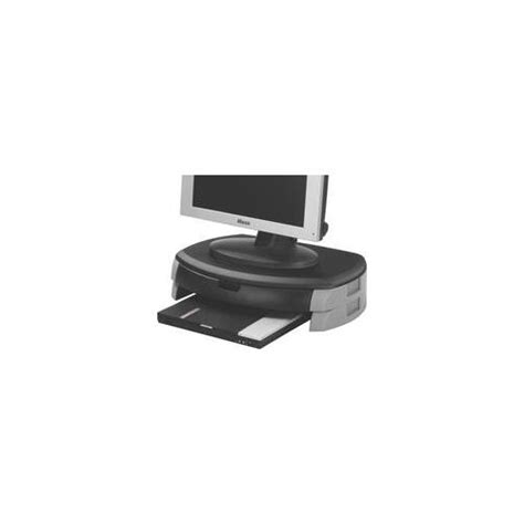 How To Connect Drawer To Printer kf20081 q connect monitor printer stand drawer black