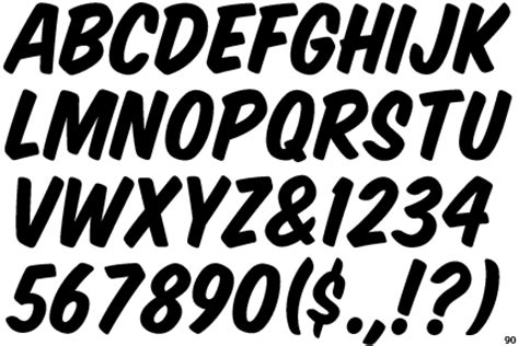 sign painter house casual font identifont house slant