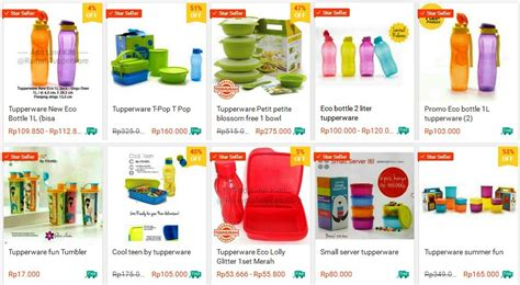Harga Katalog Minuman by Katalog Harga Tupperware Terbaru Brosur Promo Botol