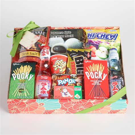 furniture home decor food wine gifts world market japanese snack gift box world market