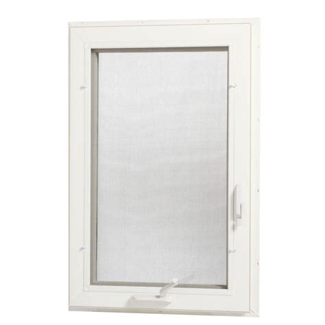 home depot awning window tafco windows 24 in x 48 in left hand vinyl casement