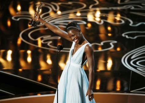 Lepaparazzi News Update Best Supporting Academy Award Winner Hudson by Oscars Best Dressed Lupita Nyong O Charlize Theron And