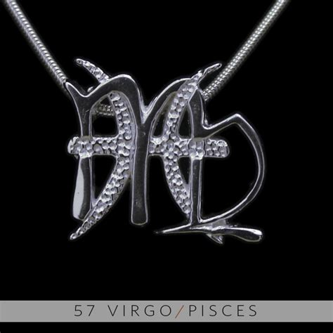 unity design concepts the virgo and pisces silver unity