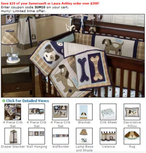 puppy crib bedding puppy nursery bedding