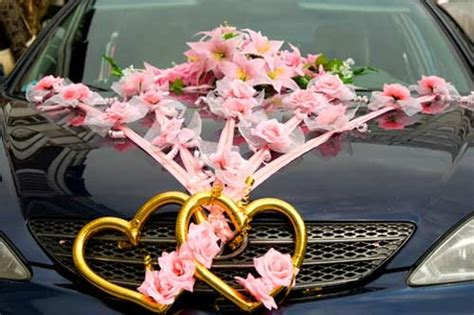 Wedding Car Vows by Beautiful Car Decorations Marriage Vows