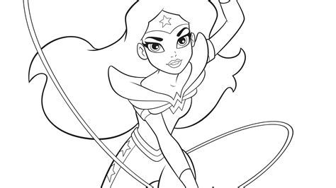 coloring pictures of girl superheroes dc super hero girls a kids coloring book dc